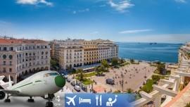 Letecký zájazd na grécke Thessaloniki