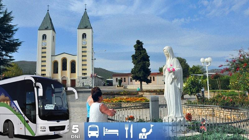 5-dňový zájazd do Medžugoria