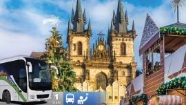 Adventný zájazd do Prahy a muzikál Voda nad Vodou