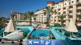 Konakli (Alanya) - Saphir Hotel aj s letenkou a all-inclusive plus